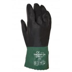 Gant néoprène vert et noir, 100-250ºC. 5630