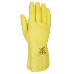 """Gant """"Nova 38"""" Gant latex sans support couleur jaune."""