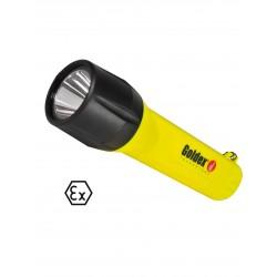 Torche certifiée Atex. 60 lumens. 1 LED.