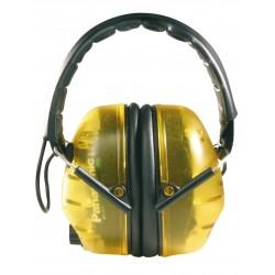 Casque (serre-tête) anti-bruit électronique. SNR: 31dB.