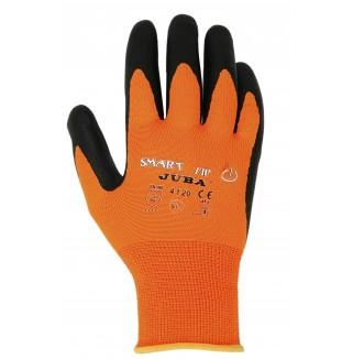 Gants nylon et nitrile compatible avec écran tactile